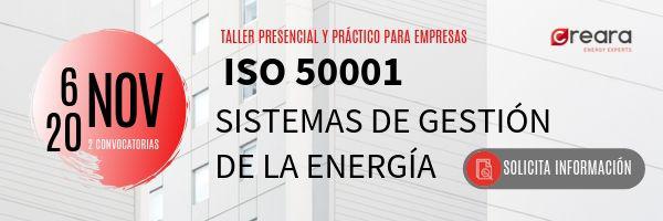 Taller práctico ISO 50001 para empresas