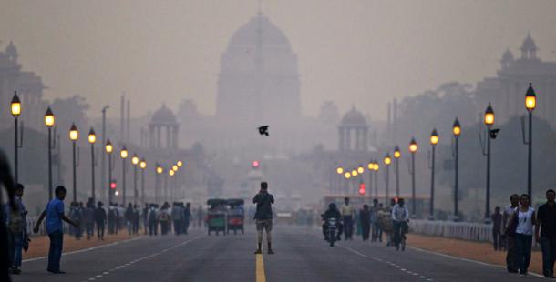 Delhi contaminacion