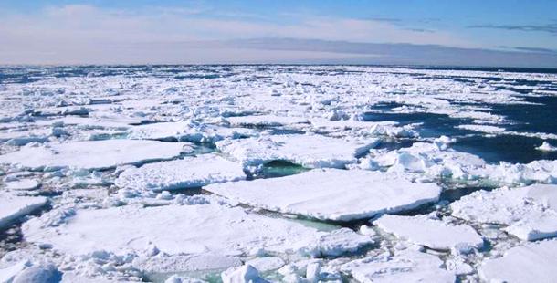 Ola de calor en el Polo Norte