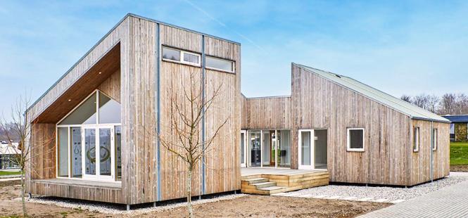 La primera casa biológica construida con materiales a partir residuos agrícolas ambientum
