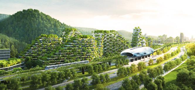 La primera ciudad forestal del mundo para combatir el cambio climático ya está en marcha