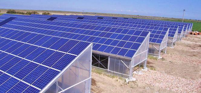 Invernaderos solares en Francia