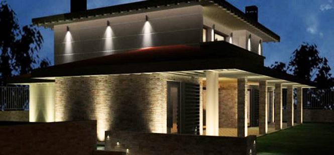 Iluminación LED para los exteriores de tu hogar