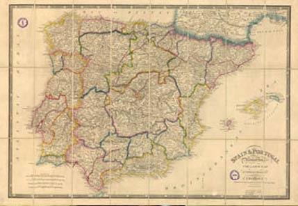 175 Anos Del Primer Mapa Topografico De Espana Ambientum Portal
