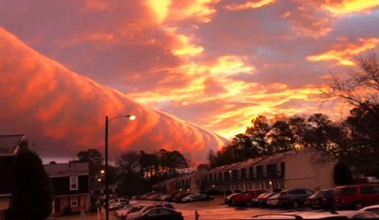 Impresionante fenómeno natural en el cielo de Virginia