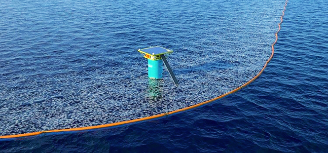 Histórica limpieza del océano