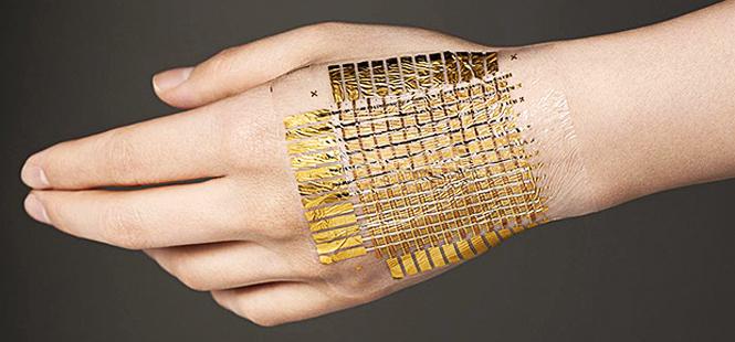 Inventan una piel electrónica que puede reciclarse por completo