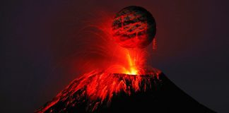 ¿Por qué las erupciones de los volcanes pueden ser lentas o explosivas?