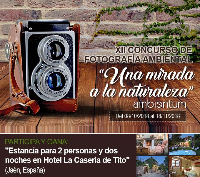 ¡Participa en nuestro XII Concurso de Fotografía Ambiental!