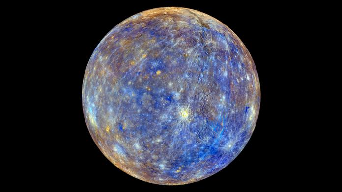 Resultado de imaxes para foto de mercurio planeta