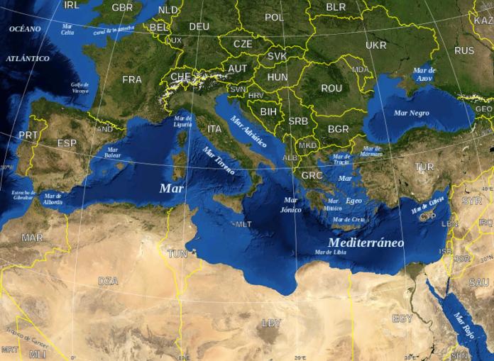 La cascada de kilómetro y medio que llenó el Mediterráneo - Ambientum