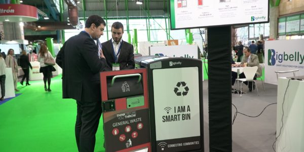 Zona expositiva Greencities 2019