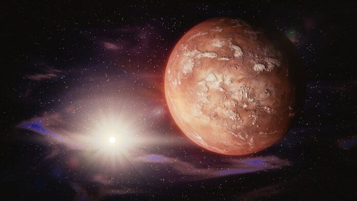 Hallan la línea verde del oxígeno en la atmósfera de Marte - Ambientum