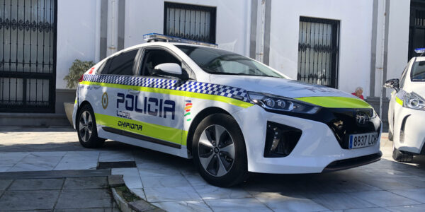 Mobility vehiculo policia. Chipiona